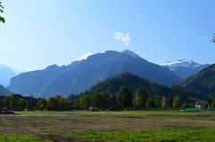 Cenário de Interlaken Foto de Stock