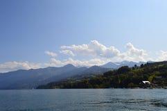 Cenário de Interlaken Imagem de Stock Royalty Free