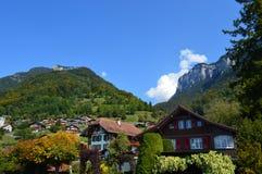 Cenário de Interlaken Imagem de Stock