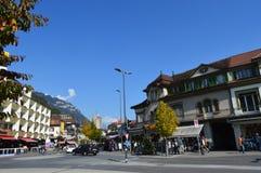Cenário de Interlaken Imagens de Stock Royalty Free