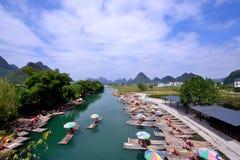 Cenário de Lijiang River Imagens de Stock Royalty Free