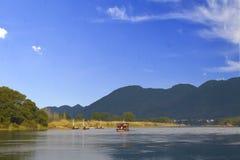 Cenário de Lishui Imagem de Stock
