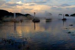 Cenário de Lishui Imagens de Stock Royalty Free