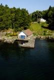 Cenário de Lysefjord Fotos de Stock