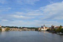 Cenário de Praga Fotos de Stock Royalty Free