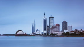 Cenário de Qingdao em China fotografia de stock