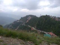 Cenário de Shimla foto de stock