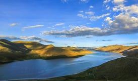 Cenário de Tibet fotos de stock royalty free
