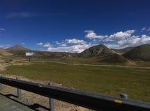 Cenário de Tibet imagens de stock