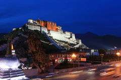 Cenário de Tibets Foto de Stock