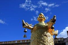Cenário de Tibets Imagem de Stock Royalty Free