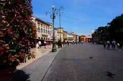 Cenário de Verona Sutiã da praça e arena Verona Foto de Stock Royalty Free