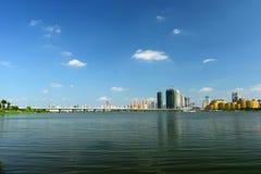 Cenário de Wuhan Fotografia de Stock