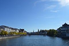 Cenário de Zurique Foto de Stock Royalty Free