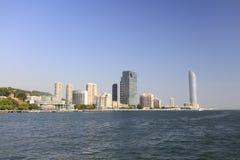 Cenário do beira-mar de Xiamen, adôbe rgb imagens de stock royalty free
