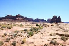 Cenário do deserto Imagem de Stock