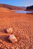 Cenário do deserto em Mavrovo Fotos de Stock