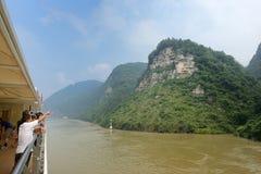 Cenário do desfiladeiro de Xiling Imagens de Stock