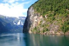 Cenário do Fjord Fotos de Stock Royalty Free