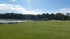 Cenário do golfe Imagens de Stock Royalty Free
