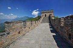 Cenário do Grande Muralha de China Mutianyu Imagens de Stock