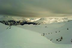 Cenário do inverno Fotografia de Stock Royalty Free