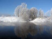 Cenário do inverno imagens de stock royalty free