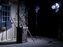 Cenário do jogo do teatro Fotos de Stock