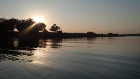 Cenário do lago Fotografia de Stock Royalty Free