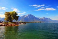 Cenário do lago Imagens de Stock