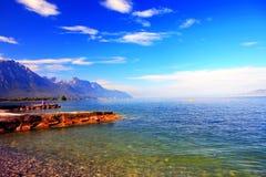 Cenário do lago Imagens de Stock Royalty Free