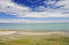 Cenário do lago summer Foto de Stock