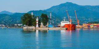 Cenário do Mar Negro Imagens de Stock