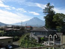 Cenário do Mt magnífico fuji imagem de stock