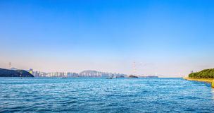 Cenário do oceano de Xiamen Fotos de Stock