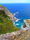 Cenário do oceano do ponto do cabo Foto de Stock Royalty Free