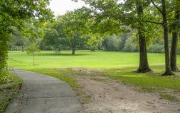 Cenário do parque em torno de Yarmouth imagens de stock