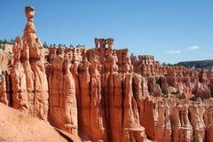 Cenário do parque nacional da garganta de Bryce Foto de Stock