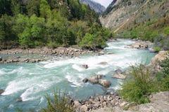 Cenário do rio Imagens de Stock