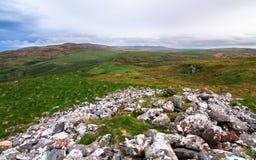 Cenário do Upland na ilha de Islay, Escócia imagens de stock royalty free