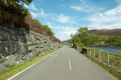 Cenário do verão no vale da disposição de Powys, Gales imagem de stock royalty free
