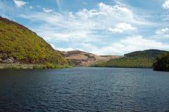 Cenário do verão no vale da disposição de Powys, Gales imagens de stock royalty free