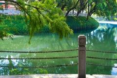 Cenário do westlake de Chaozhou, Guangdong, China Foto de Stock Royalty Free