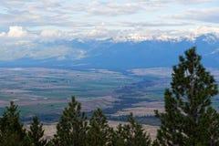 Cenário em Montana ocidental imagens de stock
