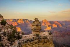 Cenário em torno do Grand Canyon no Arizona Foto de Stock
