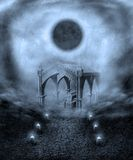 Cenário gótico 22 ilustração stock