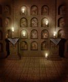 Cenário gótico 39 ilustração do vetor