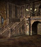 Cenário gótico 49 Fotografia de Stock Royalty Free