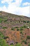Cenário Jerome da paisagem, Maricopa County, o Arizona, Estados Unidos foto de stock royalty free