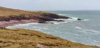 Cenário litoral em Connemara foto de stock royalty free